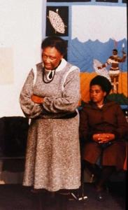 Ellen Kuzwayo at Exhibition
